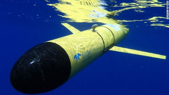 The Slocum Glider from WHOI, one of the longest-serving undersea drones