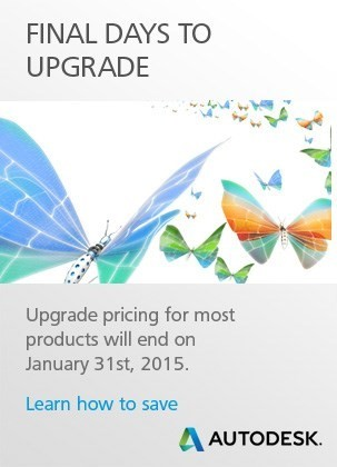 Final Days to Upgrade your Autodesk Software