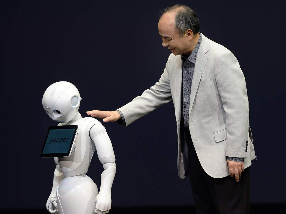 Pepper the robot with a 'heart'