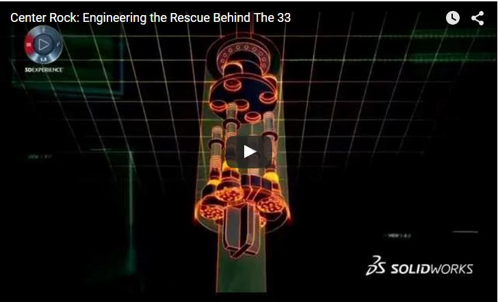 Centre Rock: Engineering the rescue behind 'the 33'