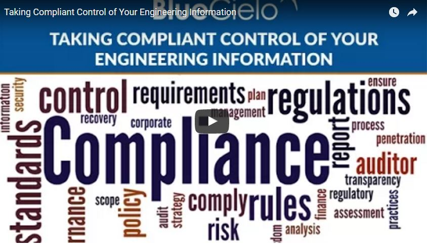 Take Compliant Control of Your Engineering Information