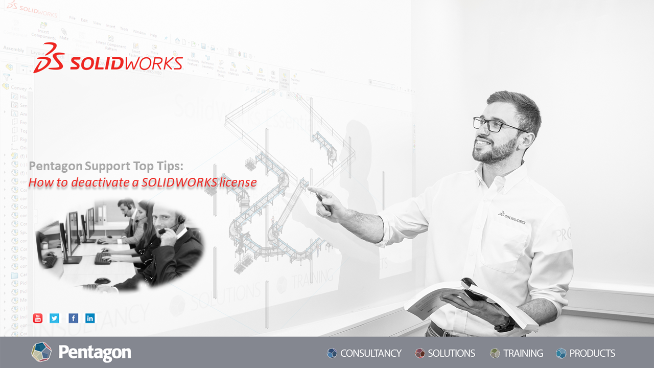 How to deactivate SOLIDWORKS license