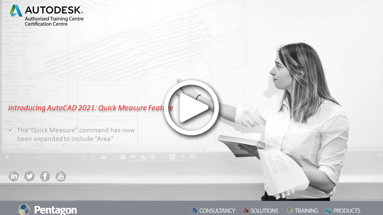 Introducing AutoCAD 2021: Quick Measure Feature